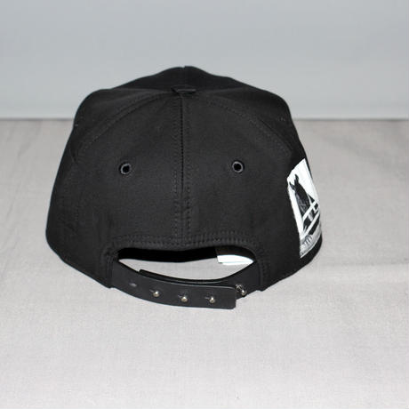 DRKSHDW by Rick owens / Patch leather cap