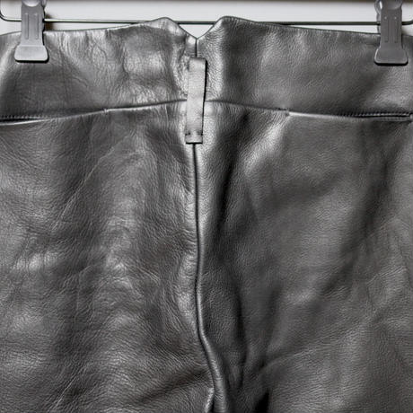 M.A+ by Maurizio amadei / Washable leather slim fit pants