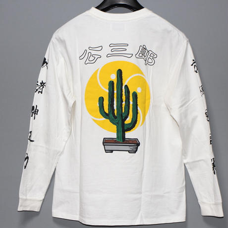 KOZABURO / SS20 CACTUS BONZA LS T-shirt