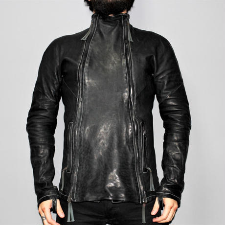BORIS BIDJAN SABERI /  18AW J4 Horse leather jacket