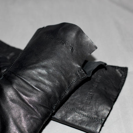 BORIS BIDJAN SABERI / Fingers leather gloves