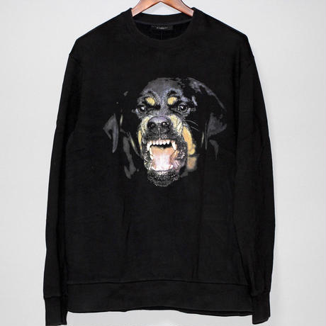 11AW GIVENCHY / Rottweiler print over sized sweat shirt