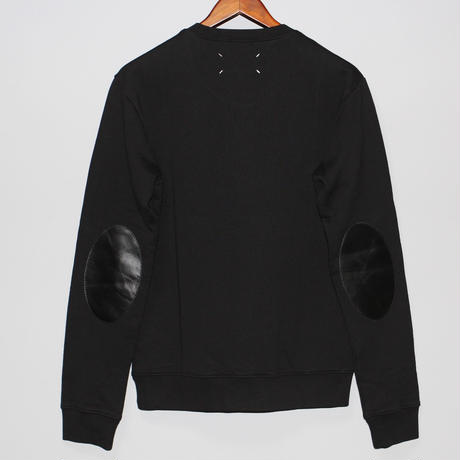 Maison Margiela / SS16 Leather elbow patch sweat shirt