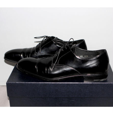 PRADA / SS18 Oxford leather shoes