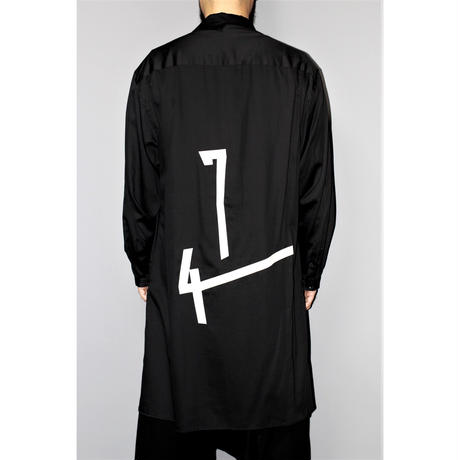 Yohji yamamoto pour homme / 19SS Deformed collar blouse Number