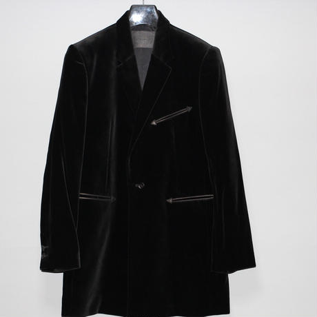 The Letters / AW19 velvet Long jacket