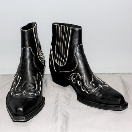205W39NYC calvin klein / AW17 Leather western boots
