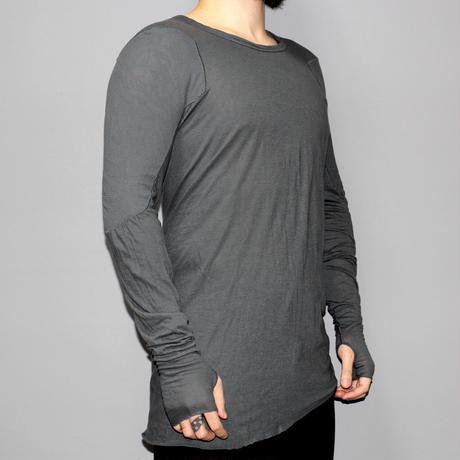 BORIS BIDJAN SABERI / Long sleeve T-shirt with Thumb holes