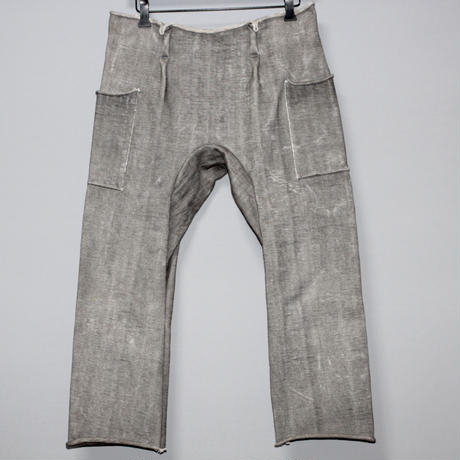 WARE / Japanese cotton heavy jersey cropped pants