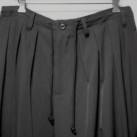 Yohji yamamoto pour homme / AW18 Wool gabardine Balloon pants