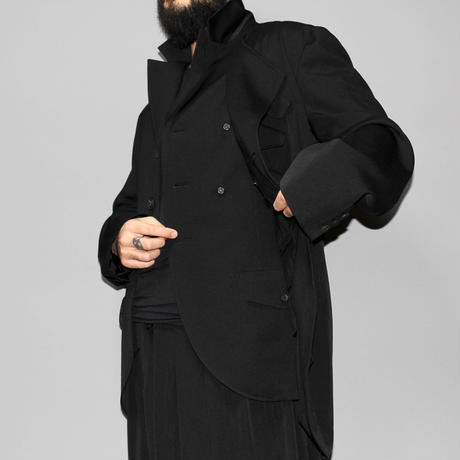 Yohji yamamoto pour homme / 19SS Double left front Jacket
