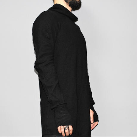 BORIS BIDJAN SABERI / AW15 Seamless high neck cashmere knit
