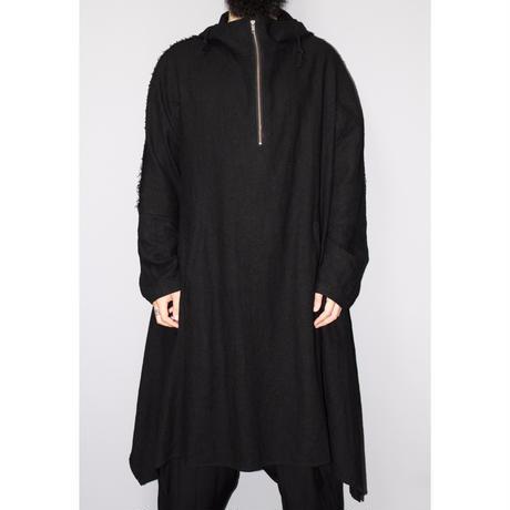 Yohji yamamoto pour homme / FW14 Pull over hooded coat