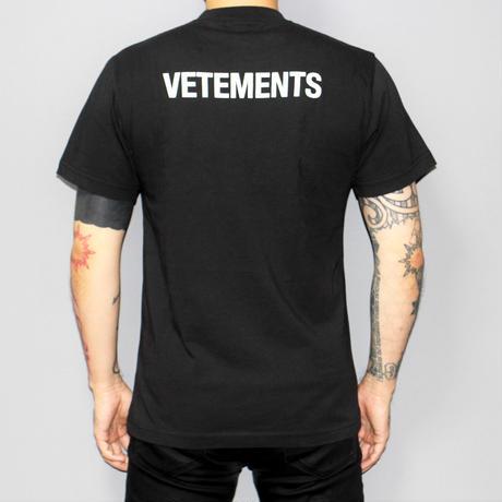 17AW VETEMENTS / STAFF T-SHIRT