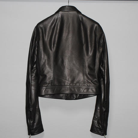 Rick owens / AW18 STOOGES CROPPED LEATHER JACKET