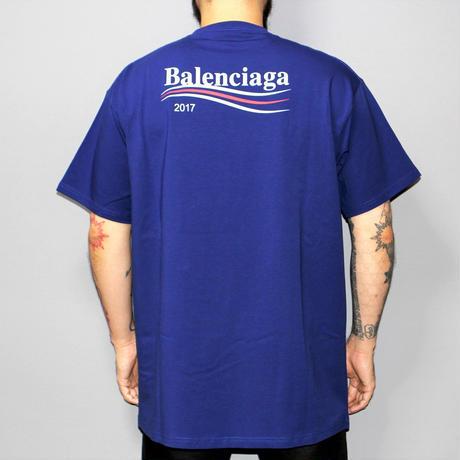 17AW BALENCIAGA  / Over sized logo T-shirt