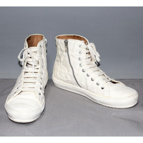 BOTH PARIS / Leather high-top sneakers