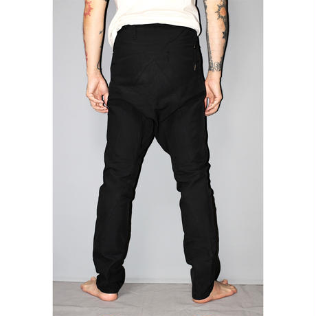 BORIS BIDJAN SABERI / SS15 Low crotch asymmetrical back pants