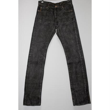 KOHZO denim / WAX processed denim pants