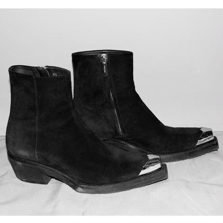 205W39NYC calvin klein / AW17 Suede leather western boots