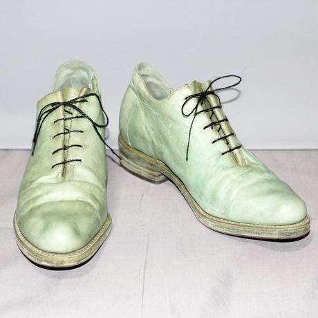 A DICIANNOVEVENTITRE (A1923) / A1 One piece horse leather derby shoes