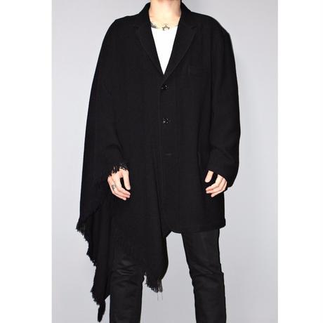 Yohji yamamoto pour homme / FW16 / Limited 15 Pieces / Fringe stole jacket