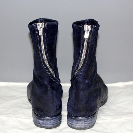 CAROL CHRISTIAN POELL / OBJECT DYED DIAGONAL ZIP GOODYEAR BOOTS / 2015
