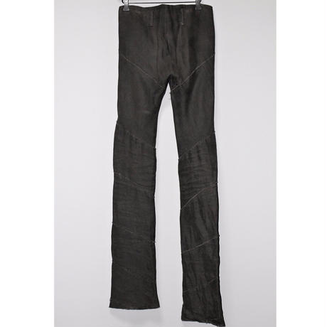 M.A+ by Maurizio amadei / WAXED LINEN SPIRAL PANTS