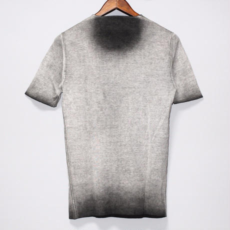 LABEL UNDER CONSTRUCTION / COLD DYED REVERSIBLE T-SHIRT