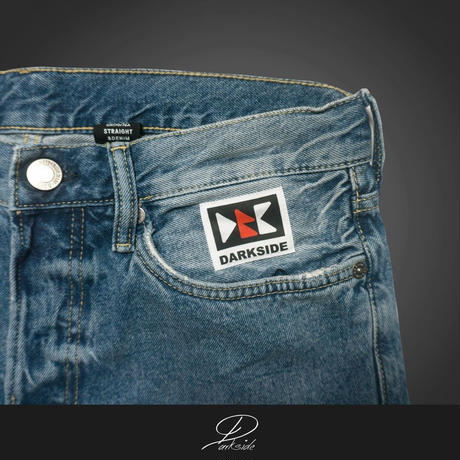 DARK INFERNO ~buck front straight jeans~