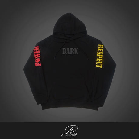 "DARK POWER RESPECT ~""DPR"" logo hoodie~"