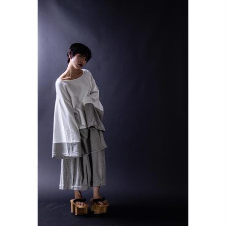 ワイドパンツ-空服- グレー