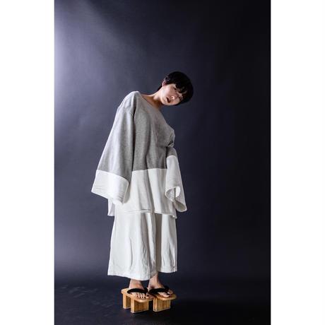 ワイドパンツ-空服- 白