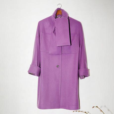 Wool Muff detail Coat