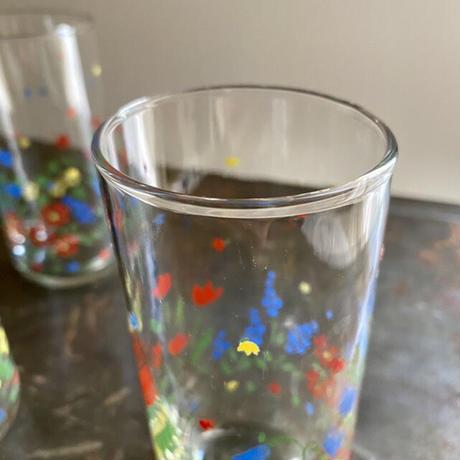 カメイガラス ヴィンテージ クラフトグラス 1客 昭和レトロ TAMB2102-01(ほぼ未使用)