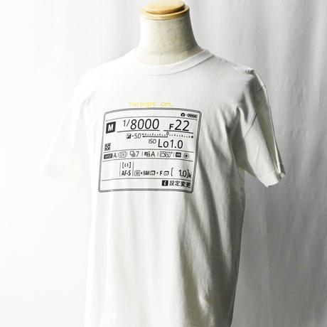 明るすぎTシャツ(D500)