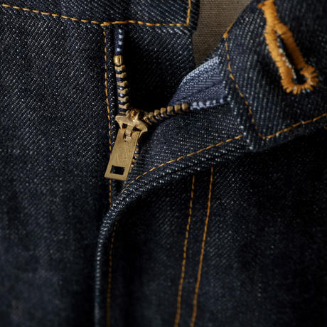 セルビッジ5Pストレートジーンズ