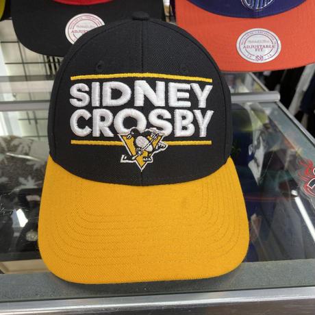 #87 シドニークロスビー Adidas アディダス ピッツバーグ ペンギンズ NHL ボールキャップ