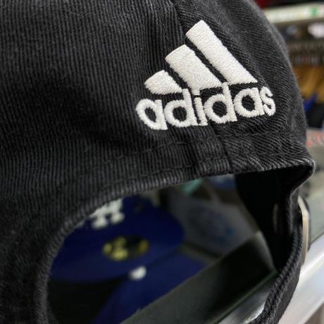 Adidas アディダス NHL ピッツバーグ ペンギンズ 黒/黄 ストラップバックキャップ アイスホッケー