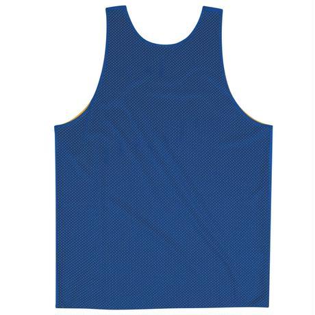 USA限定 Mitchell&Ness ミッチェル&ネス NBA リバーシブル reversible メッシュ タンクトップ Warrious ウォリアーズ 青/黄 ビブス バスケシャツ