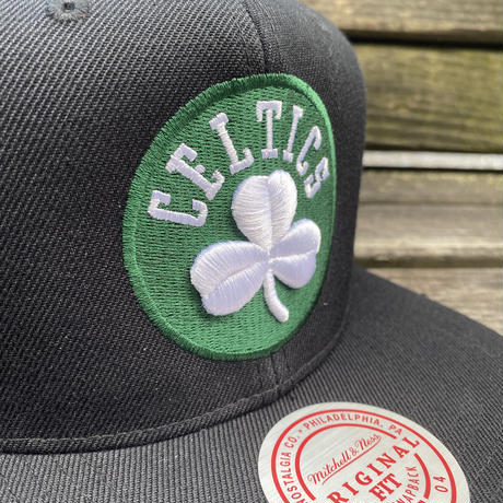 Mitchell&Ness ミッチェル&ネス NBA ボストン Celtics セルティックス スナップバックキャップ