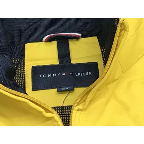 トミーヒルフィガー TOMMY HILFIGER ナイロン ヨットジャケット 撥水加工 イエロー