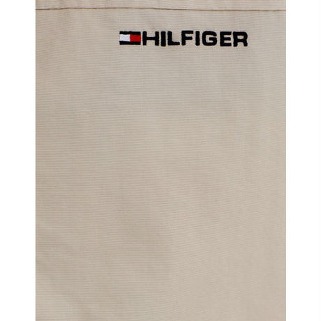 トミーヒルフィガー TOMMY HILFIGER ナイロン ヨットジャケット 撥水加工 ベージュ