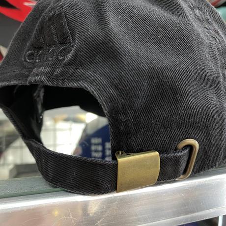 Adidas アディダス NHL ピッツバーグ ペンギンズ 黒 ストラップバックキャップ アイスホッケー