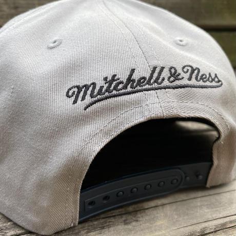 Mitchell&Ness ミッチェル&ネス OKC オクラホマシティ Thunder サンダー 公式 スナップバックキャップ NBA 2トーン バスケット