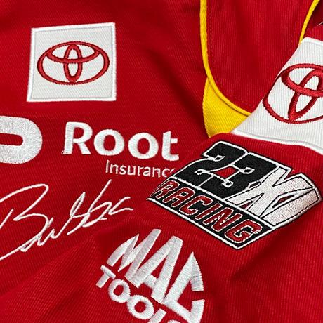 NASCAR ナスカー JHデザイン McDonald's レーシングジャケット 23XI Racing ダレルウォレスJr.