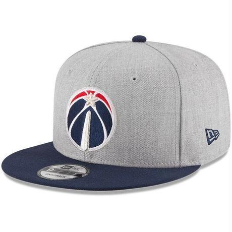 Newera ニューエラ NBA ワシントン Wizards ウィザーズ 2トーン スナップバック キャップ バスケ 9FIFTY サイズ調節可