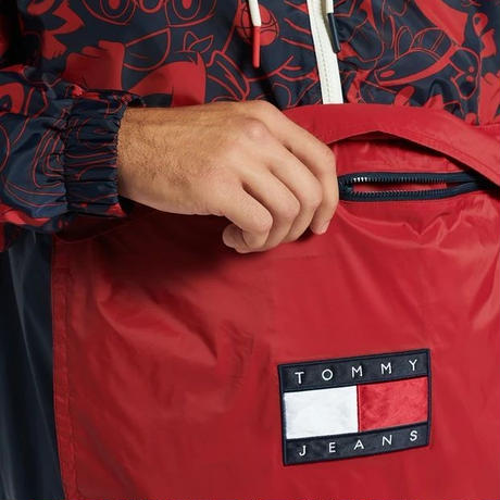 限定コレクション TOMMY JEANS スペースジャム LooneyTunes アノラック ライトジャケット