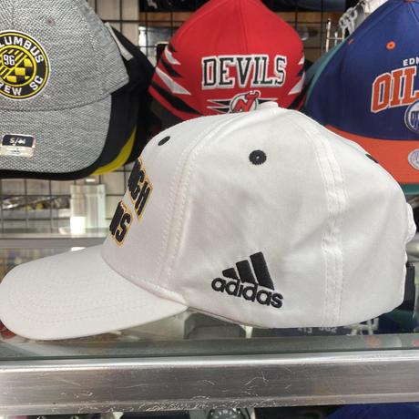 Adidas アディダス NHL ピッツバーグ ペンギンズ 白 ボールキャップ サイズ調節可 アイスホッケー