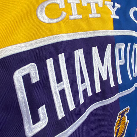 【限定】優勝記念スタジャン JHデザイン City Of Champions ロサンゼルス レイカーズ ドジャース